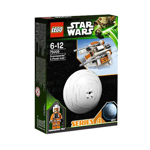 Lego Star Wars 75009 Конструктор Лего Звездные Войны Снеговой спидер и планета Хот