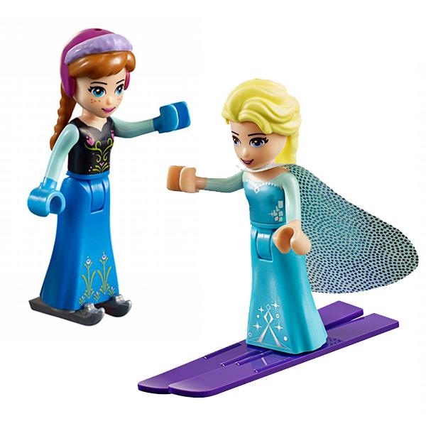 Lego Juniors 10736 Конструктор Лего Джуниорс Игровая площадка Эльзы и Анны