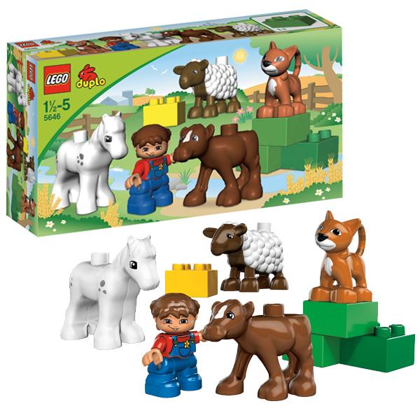 Lego Duplo 5646 Конструктор Фермерский питомник