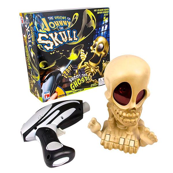 Johnny the Skull 0669 Проектор Джонни Череп с бластером