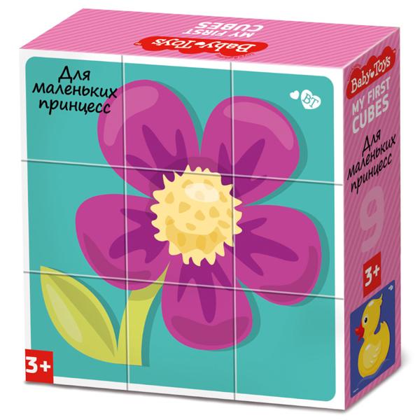 BABY TOYS TD03534 Кубики Для маленьких принцесс, 9 шт