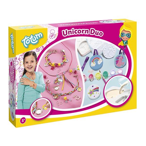 Фото - Totum T025547 Наборы для творчества UNICORN 2 в1 наборы для творчества фантазер игрушка из гипса снежинка 2