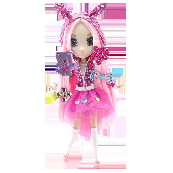 Shibajuku Girls HUN6622 Кукла Шидзуки, 33 см кукла shibajuku girls шидзуки 15 см