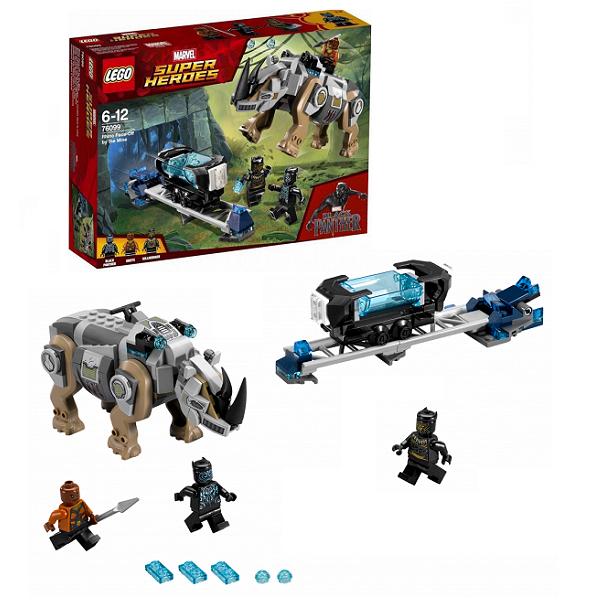 Lego Super Heroes 76099 Лего Супер Герои Поединок с Носорогом конструктор lego marvel super heroes реактивный самолёт мстителей 76049