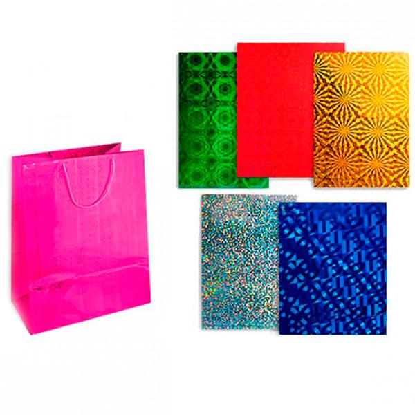 Пакет подарочный TZ9606 голография, 45x32x13 см, 157г/м2 NEW пакет подарочный голография tz9495 32 45 11 6 цветов в ассортименте