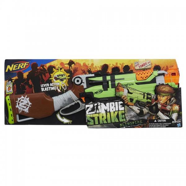 Hasbro Nerf A6563 Нерф Бластер Зомби Страйк Слингфайр