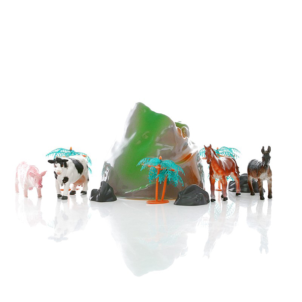 HGL SV3471 Игровой набор фермерских животных в тубе цена