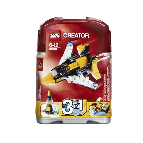 Конструктор Lego Creator 31001 Конструктор Мини-самолёт (классический самолёт/ракета)