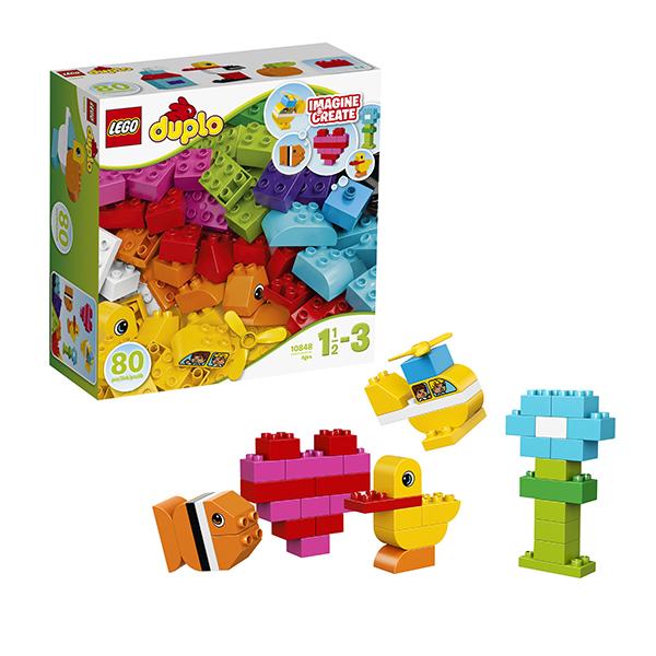 Lego Duplo 10848 Конструктор Лего Дупло Мои первые кубики lego duplo 10850 лего дупло мои первые пирожные