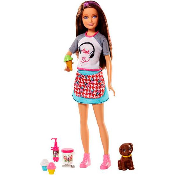 Mattel Barbie FHP62 Барби Сестры и щенки барби барби детский плащ сумки банни девушки перламутровый надувной капюшон надувной щенок щенок щенки учеников by 004 барби l
