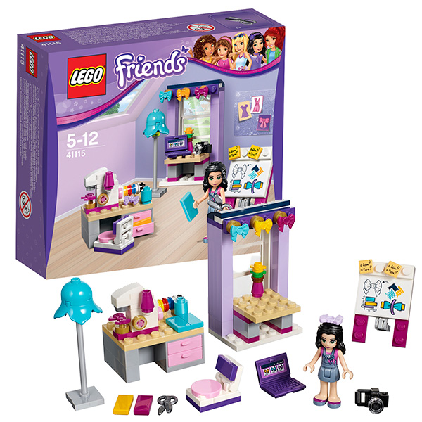 Лего Подружки 41115 Творческая мастерская Эммы