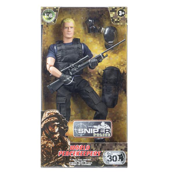 """World Peacekeepers MC90360 Игровой набор """"Снайпер"""" 1:6 (в ассортименте)"""