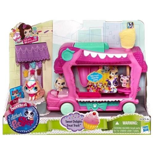 Hasbro Littlest Pet Shop A1356H Литлс Пет Шоп Игровой набор Грузовик сладостей