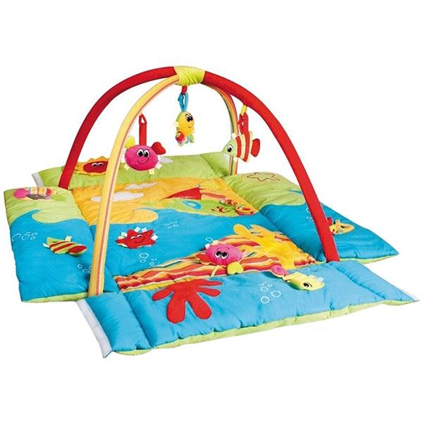 Canpol babies 250930039 Коврик игровой многофункциональный - цветной океан, 0+