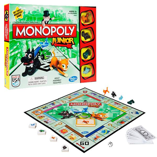 Hasbro Monopoly A6984 Настольная игра Моя первая Монополия настольная игра для вечеринки hasbro монополия моя первая игра a6984h
