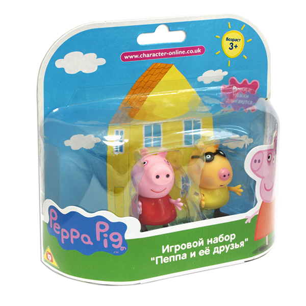 "Peppa Pig 28817 Свинка Пеппа Фигурки ""Пеппа и Педро"""