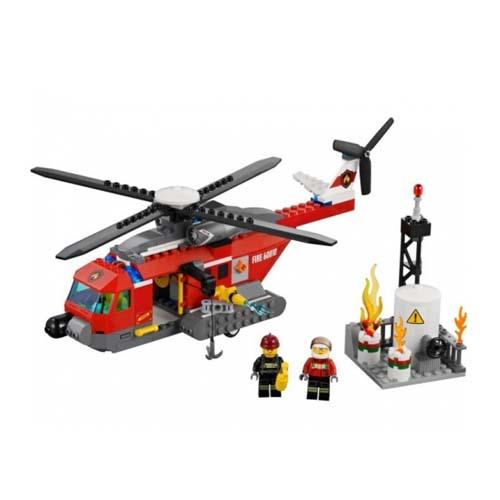 LEGO City 60010 Конструктор ЛЕГО Город Пожарный Вертолёт
