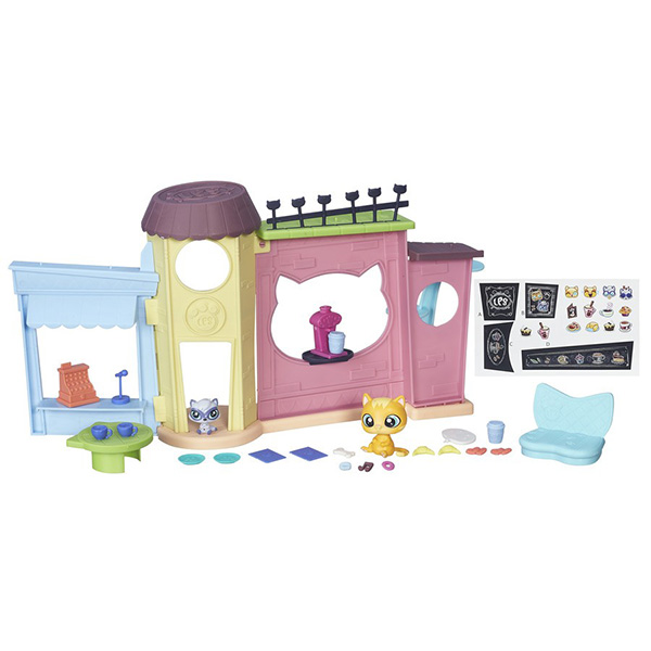 """Hasbro Littlest Pet Shop B5479 Литлс Пет Шоп Игровой набор """"Кафе"""""""