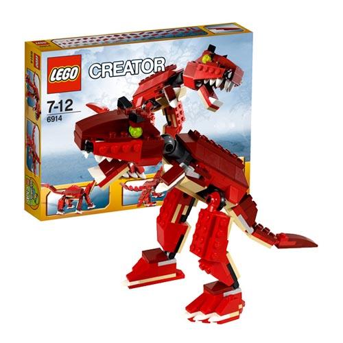 Lego Creator 6914 Лего Криэйтор Динозавр хищник