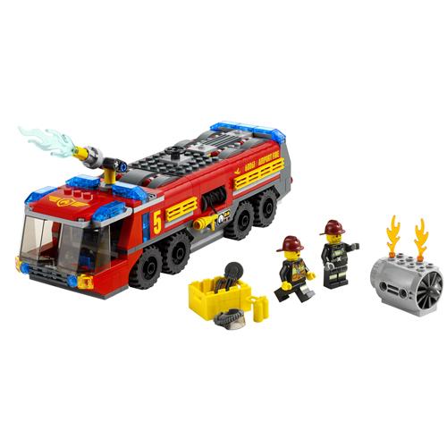 LEGO City 60061 Конструктор ЛЕГО Город Пожарная машина для аэропорта