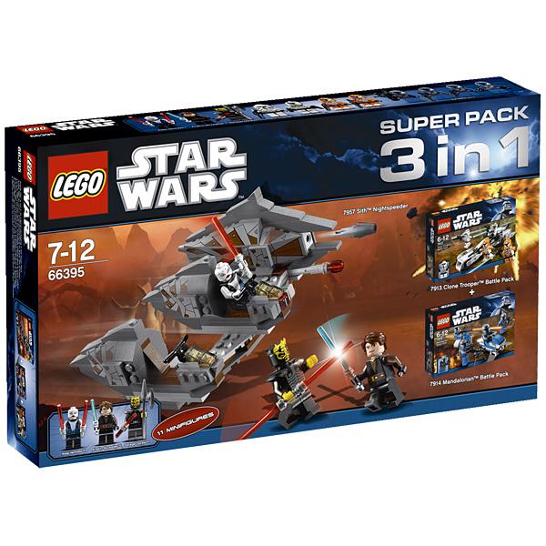 Lego Star Wars 66395 Конструктор Лего Звездные войны Подарочный Суперпэк Звездные войны версия 1