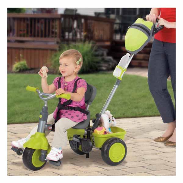 """Little Tikes 627378 Литл Тайкс """"Велосипед 3 в 1"""" зеленый, со звуковыми эффектами"""