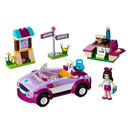 LEGO Friends 41013_1 Конструктор ЛЕГО Подружки Спортивный автомобиль Эммы