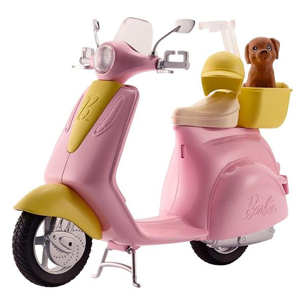 Mattel Barbie DVX56 Барби Мопед купить б у мопед 4 скоросный
