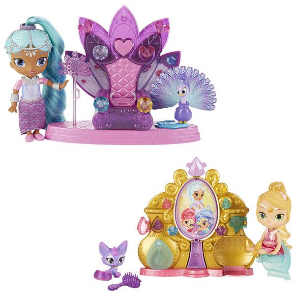 Mattel Shimmer&Shine DYV97 Игровой набор Волшебная зеркальная комната