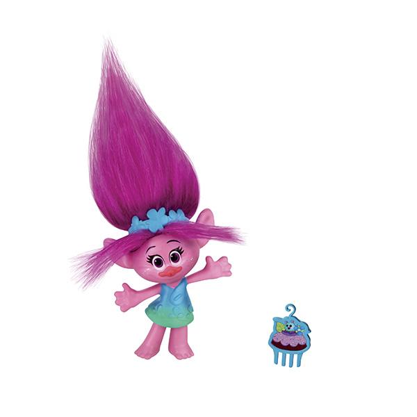 Hasbro Trolls B6555 Коллекционные фигурки (в ассортименте) фигурки героев мультфильмов trolls коллекционная фигурка trolls в закрытой упаковке 10 см в ассортименте