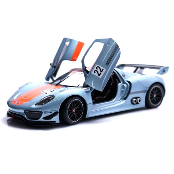 Welly 43651 Велли Модель машины 1:34-39 Porsche 918 RSR rastar 1 24 porsche 918 spyder серебро 71400