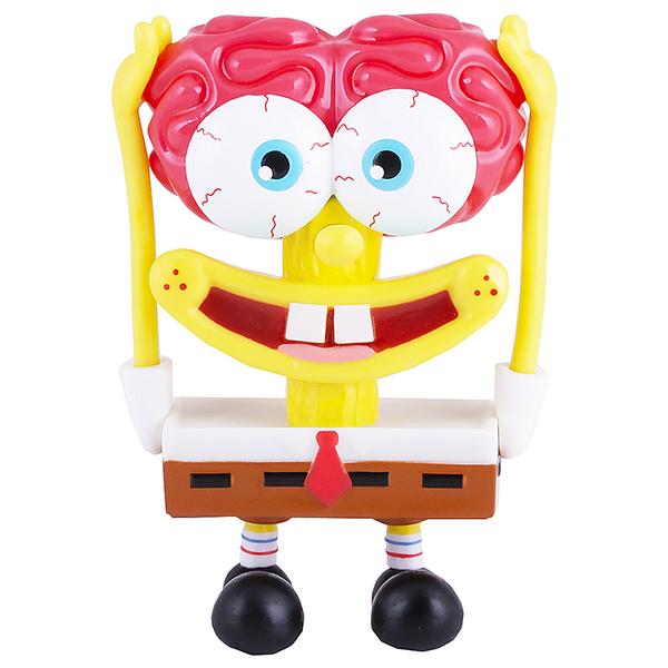 SpongeBob EU690705 Спанч Боб мозг (пластик., 11,5 см) фигурка alpha toys spongebob губка боб насмешливый eu691005