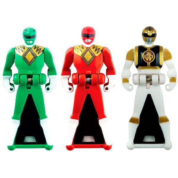 Power Rangers Samurai 38250 Пауэр Рейнджерс Фигурка-ключ 3 шт (в ассортименте)