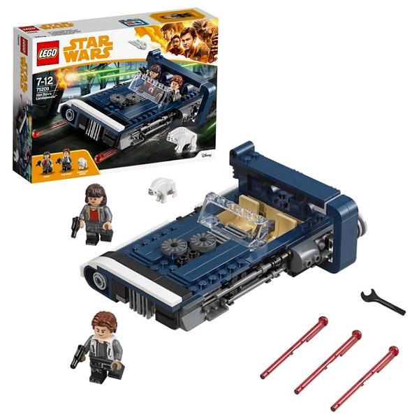 Lego Star Wars 75209 Конструктор Лего Звездные Войны Спидер Хана Cоло lego игрушка звездные войны флэш спидер