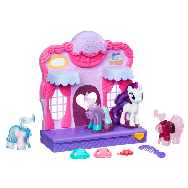 Hasbro My Little Pony B8811 Май Литл Пони Бутик Рарити в Кантерлоте цена 2017