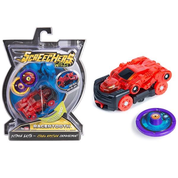 Screechers Wild 35884 Дикие Скричеры Машинка-трансформер Рейсертус л1