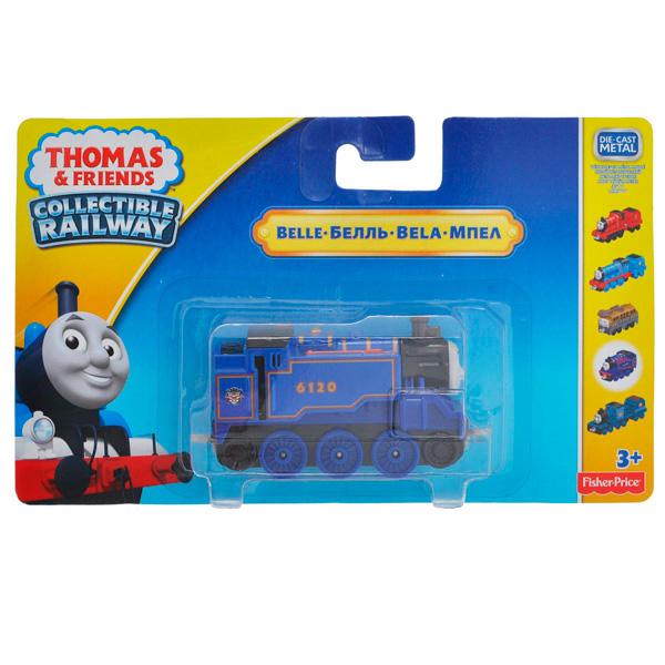 Mattel Thomas & Friends BHR83 Томас и друзья Паровозик Белль с прицепом