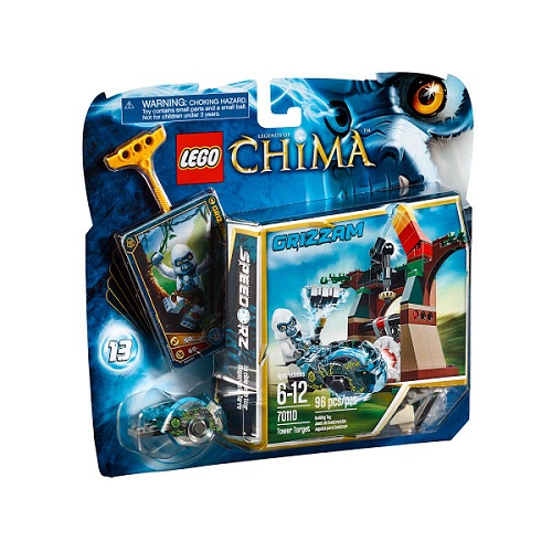 Лего Legends of Chima 70110 Конструктор Неприступная башня