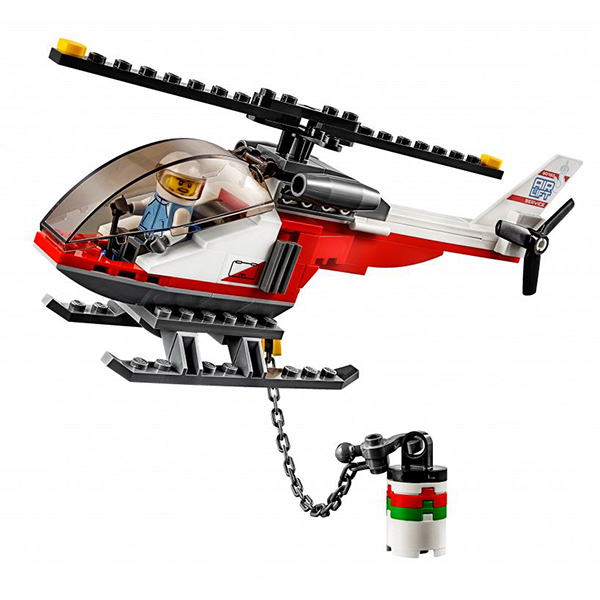 Lego City 60183 Конструктор Лего Город Перевозчик вертолета