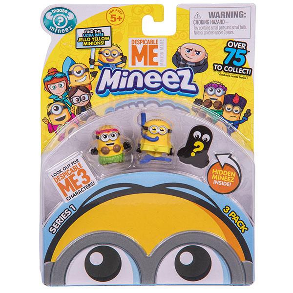 Minions 58202 Набор 3 фигурки