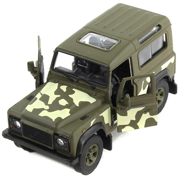 Welly 42392CM Велли Модель военной машины 1:34-39 Land Rover Defender автомобиль welly land rover defender 1 34 39