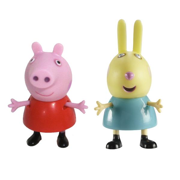 Peppa Pig 28815 Свинка Пеппа Фигурки Пеппа и Ребекка игровой набор peppa pig пеппа в автомобиле