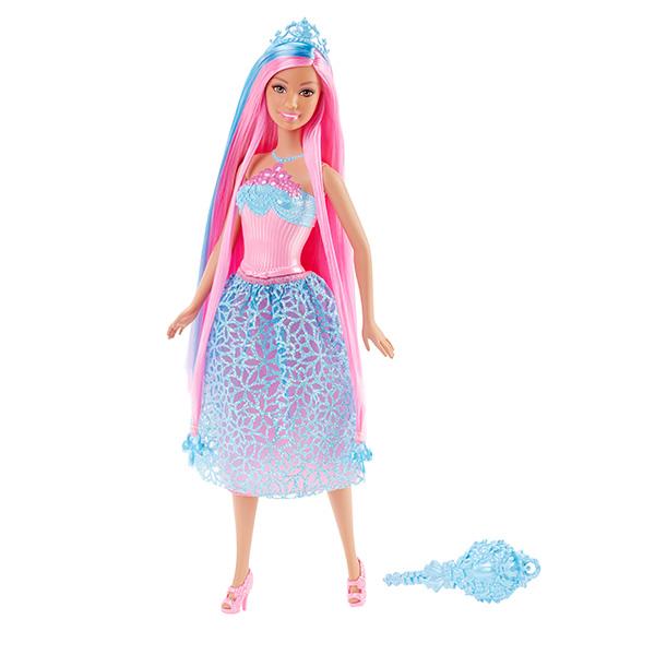 Mattel Barbie DKB61 Барби Куклы-принцессы с длинными волосами куклы barbie барби балерина