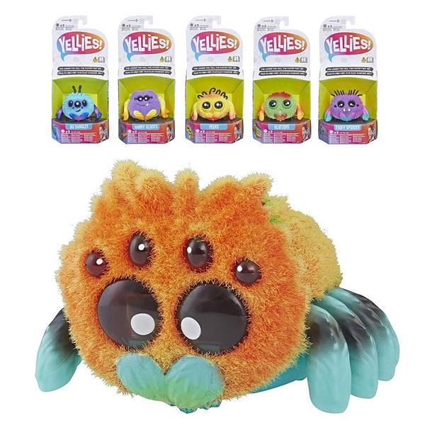 Hasbro Yellies E5064 Паучок Yellies (в ассортименте) интерактивная игрушка yellies паучок harry scoots e5064 e5379