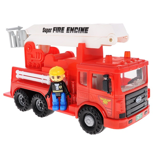 Daesung 959-1 Дайсунг Машина пожарная MAX игрушка daesung toys пожарная машина 926
