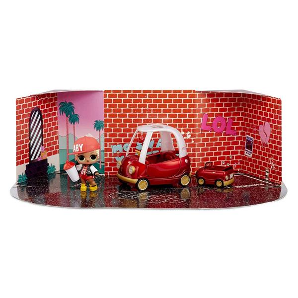 L.O.L. Surprise 564096 Игровой набор с куклой и авто