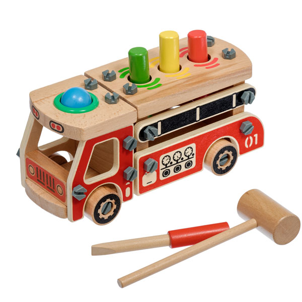 Игрушки из дерева D033 Конструктор Машина конструктор шкатулка снежинка 12338 игрушка из дерева