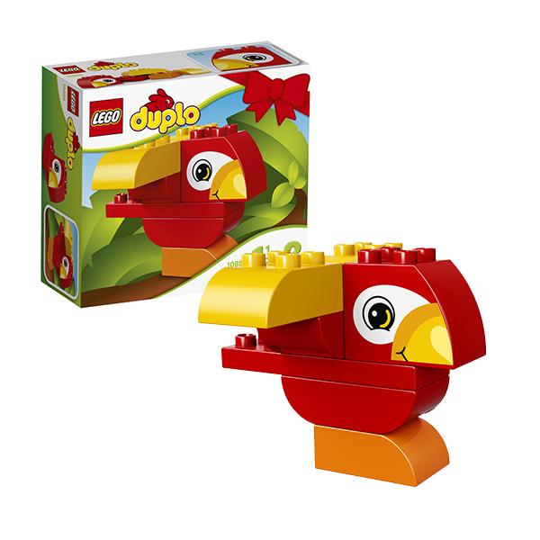 Lego Duplo 10852 Конструктор Лего Дупло Моя первая птичка lego lego duplo 10831 моя веселая гусеница