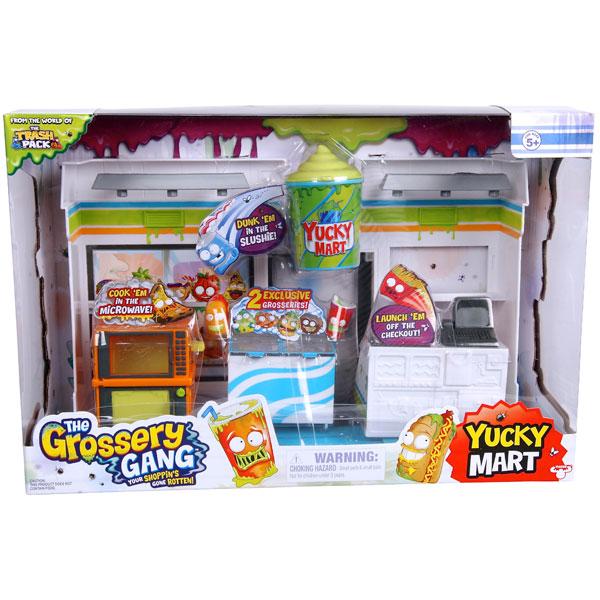 """Grossery Gang 69007 Набор """"Супермаркет"""" с 2 фигурками"""