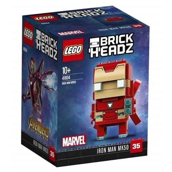 Lego BrickHeadz 41604 Конструктор Лего БрикХедз Железный человек